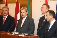 Visite de Johannes Hahn, membre de la CE, au Liban