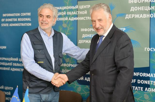 "Illustration of ""Visit of Christos Stylianides, Member of the EC, to Ukraine"""