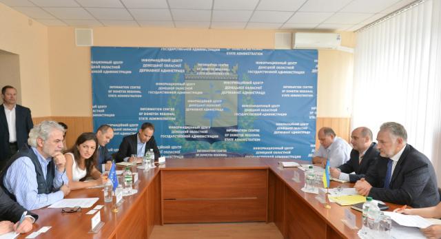Visit by Christos Stylianides to Ukraine