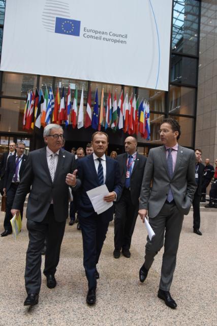 Sommet de l'Eurozone, 12/07/2015