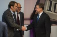 Visit of Valdis Dombrovskis, Vice-President of the EC, to Austria