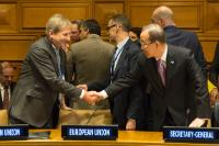 Participation of Johannes Hahn, Member of the EC, at the 70th plenary session of the United Nations General Assembly