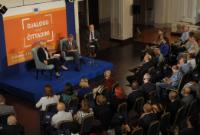 Citizens' Dialogue in Valletta with Corina Creţu and Karmenu Vella