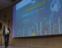 Press conference by Carlos Moedas, Member of the EC, on the new Work Programme for Horizon 2020