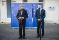 Visit by Johannes Hahn, Member of the EC, to Kosovo