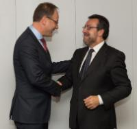 Visit of Miguel Carballeda Piñeiro, President of the General Council of the Spanish National Organization of the Blind, to the EC