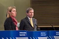 Joint press conference by Federica Mogherini, Vice-President of the EC, and Johannes Hahn, Member of the EC, on the review of the European Neighbourhood Policy