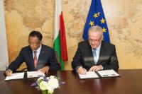 Signing ceremony of the National Indicative Programme for Madagascar within the framework of the 11th EDF