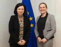 Visit of Iverna McGowan, Acting Director of Amnesty International European Institutions Office, to the EC