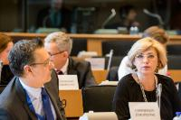 Participation of Corina Creţu, Member of the EC, in the meeting of the Committee on Budgetary Control of the EP