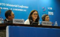 Partipation of Cecilia Malmström and Phil Hogan, Members of the EC, at the 10th WTO Ministerial Conference in Nairobi