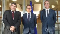 Visit of Segundo Píriz, President of the CRUE, and António Cunha, President of the CRUP, to the EC