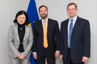 Visit of representatives of Zettabox to the EC
