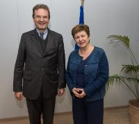 Visit of Albrecht von Boeselager, Grand Chancellor of the Sovereign Order of Malta, to the EC
