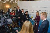 Visite de Federica Mogherini, vice-présidente de la CE, en Allemagne