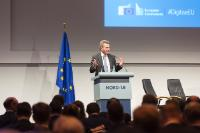 Visit of Günther Oettinger, Member of the EC, to Germany