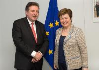 Visit of Rudi Vervoort, Minister-President of the Government of the Brussels-Capital Region, to the EC
