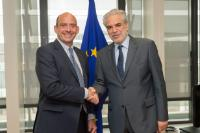Visit of Toby Porter, CEO of HelpAge International, to the EC