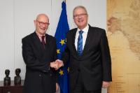 Visit of Pascal Lamy, former Director General of the World Trade Organization (WTO), to the EC