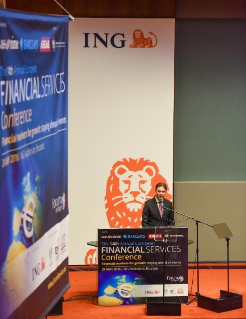 Participation de Jyrki Katainen, vice-président de la CE, à la 14e conférence annuelle sur les services financiers européens