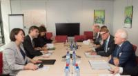 Visit of Rüdiger Grube, CEO of Deutsche Bahn AG and CEO of  DB Mobility Logistics AG, to the EC