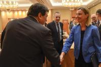 Visite de Federica Mogherini, vice-présidente de la CE, en Chine