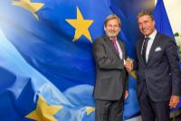Visit of Anders Fogh Rasmussen, former Secretary General of the North Atlantic Treaty Organization (NATO), to the EC