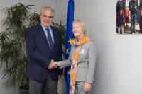 Visit of Karen Koning AbuZayd, United Nations (UN) Special Adviser on the Summit on Addressing Large Movements of Refugees and Migrants, to the EC