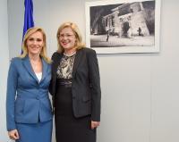 Visit of Gabriela Firea, Mayor of Bucharest, to the EC