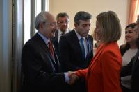 Visit of Federica Mogherini, Vice-President of the EC, and Johannes Hahn, Member of the EC, to Ankara