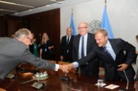 Visit of Frans Timmermans, First Vice-President of the EC, to New-York