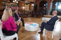 Participation of Jean-Claude Juncker, President of the EC, and Martin Schulz, President of the EP, in the talk show 'Talking Europe'