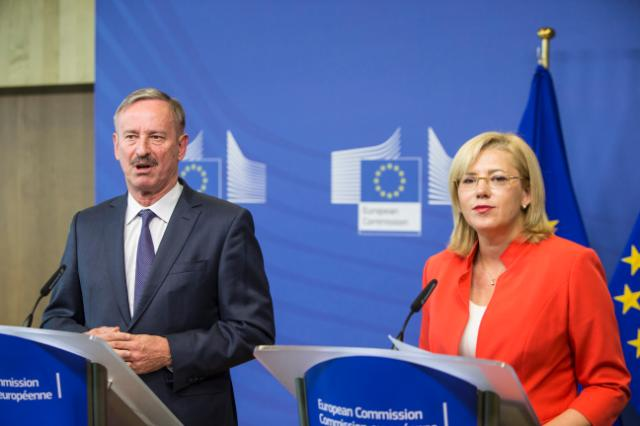 Joint press conference by Corina Creţu, Member of the EC, and Siim Kallas, Chairman of the High Level Group of Independent Experts on Monitoring Simplification for Beneficiaries of the ESI Funds