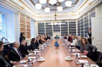 Visite de Federica Mogherini, vice-présidente de la CE, en Suède