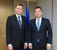 Visit of Ștefan Radu Oprea, Member of the Romanian Senate, to the EC