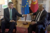 Visit of Andrus Ansip, Vice-President of the EC, to Portugal