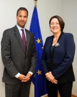 Visite de Marc Allen, premier vice-président de The Boeing Company et président de Boeing International, à la CE
