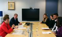 Visit of ONE Youth Ambassadors to the EC