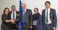 Visit of Filippo Lombardi, Chair of the Ad Hoc Committee on Migration of the Organization for Security and Co-operation in Europe (OSCE) Parliamentary Assembly, to the EC