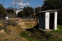 The UNO Buffer Zone in Cyprus, the demilitarised zone patrolled by the UNO Peacekeeping Force