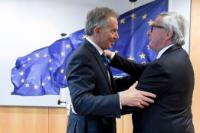 Visit of Tony Blair, former British Prime Minister, to the EC
