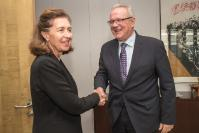 Visit of Monique Eloit, Director General of the World Organisation for Animal Health (OIE), to the EC