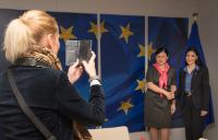 Visit of Ana Birchall, Romanian High Representative for European affairs and Chair of the Committee on European Affairs of the Romanian Chamber of Deputies, to the EC
