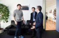 Visit of Paddy Cosgrave, co-Founder of the Web Summit, to the EC