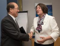 Visit of Kitack Lim, Secretary General of the International Maritime Organization, to the EC
