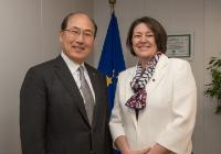 Visit of Kitack Lim, Secretary General of the International Maritime Organization, to the EC