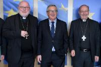 Visit of Reinhard Marx, Archbishop of Munich and Freising and President of the Commission of the Bishops' Conferences of the European Community (Comece), to the EC.