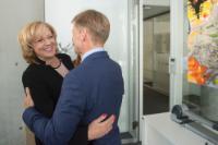 Visite de Corina Creţu, membre de la CE, au Luxembourg