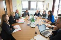 Visit of Corina Creţu, Member of the EC, to Luxembourg