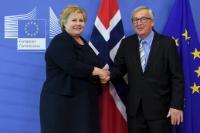 Visit of Erna Solberg, Norwegian Prime Minister, to the EC